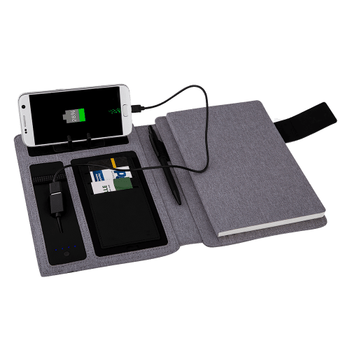 Caderno com PowerBank-442943